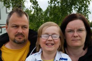 Tommy, Filip och Eva Sandberg